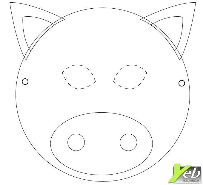 Le Cochon At Bricolage Coloriage Enfants Gifs Anim 233 S